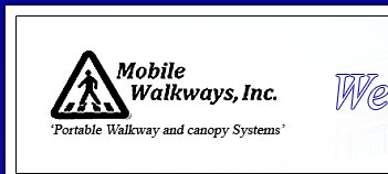 Superbe Relocatable Portable Covered Walkways